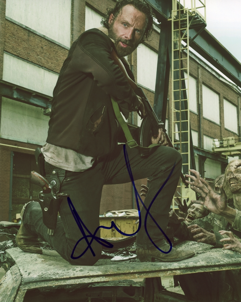 Andrew Lincoln Signed Photo