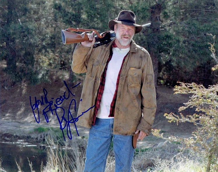 Rex Linn Signed Photo