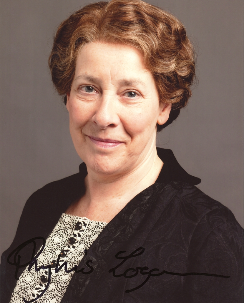 Phyllis Logan Signed Photo