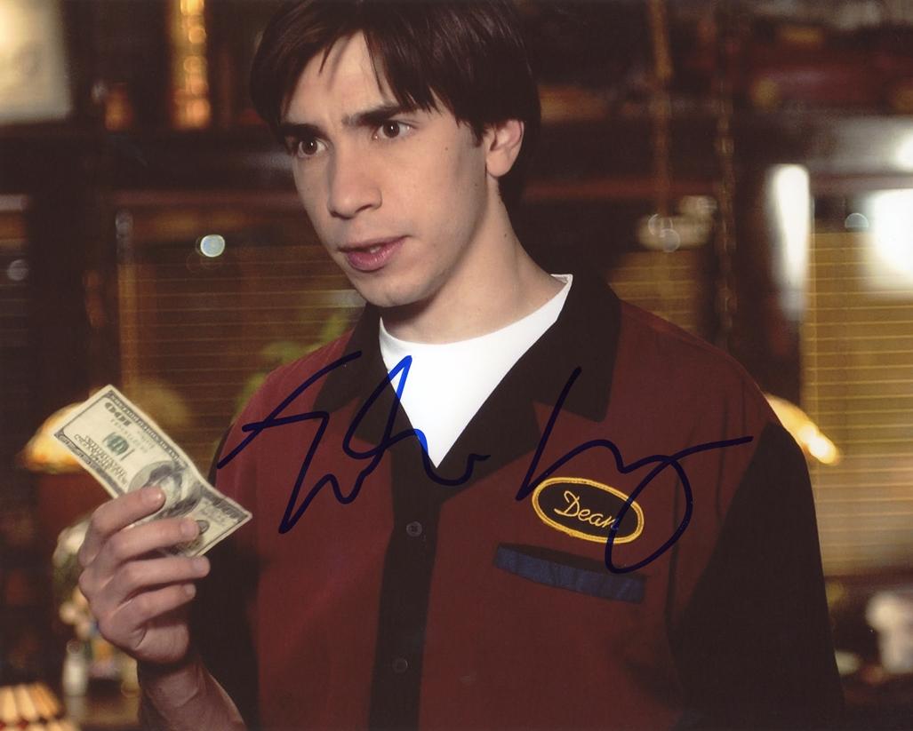 Justin Long Signed Photo