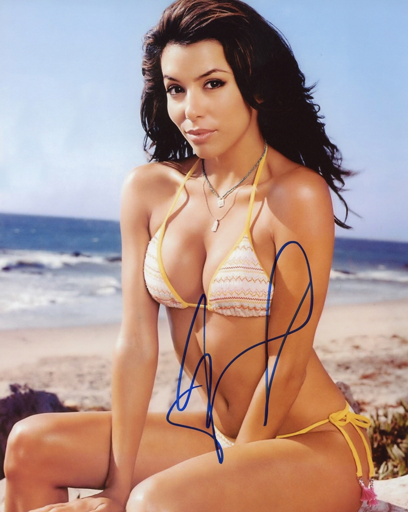 Eva Longoria Signed Photo