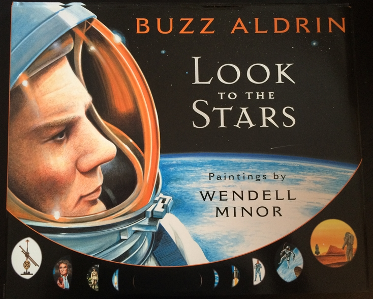 Buzz Aldrin & Wendell Minor Signed Book
