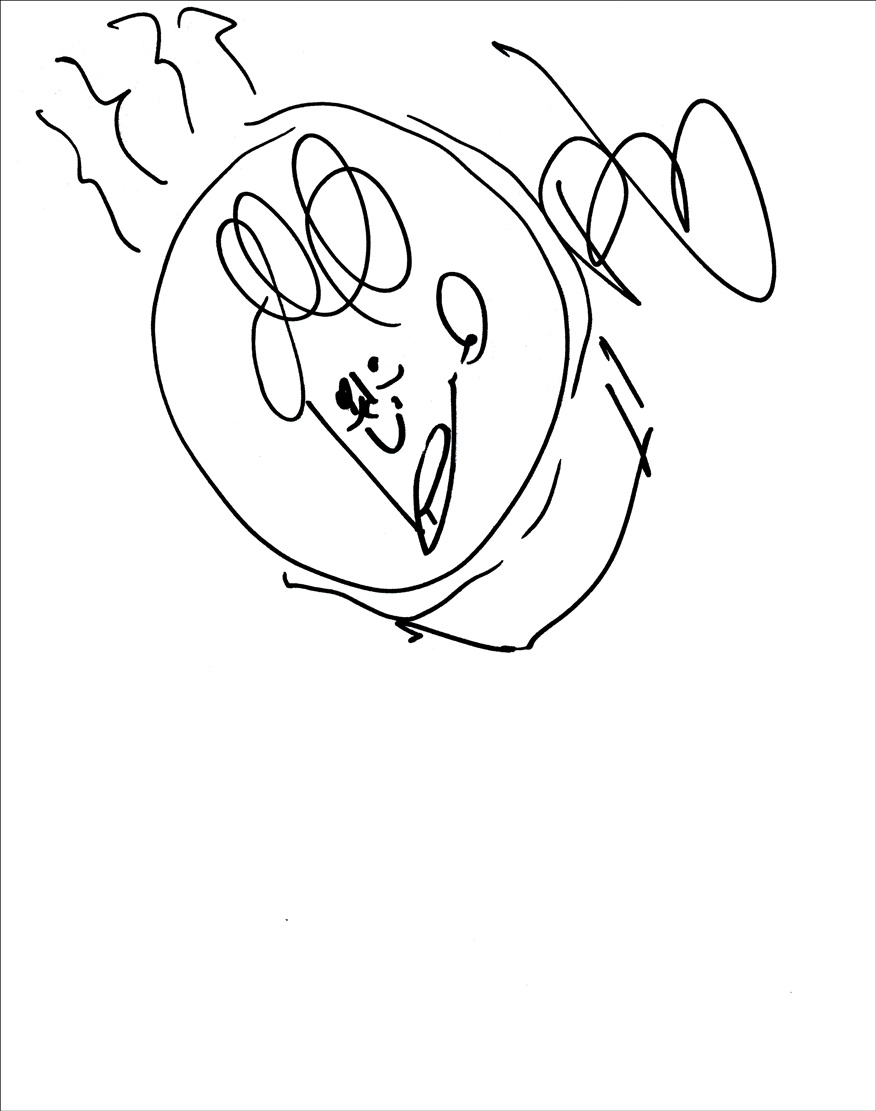 Phil Lord Signed Sketch