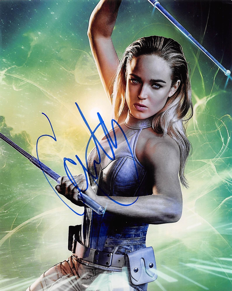 Caity Lotz Signed Photo