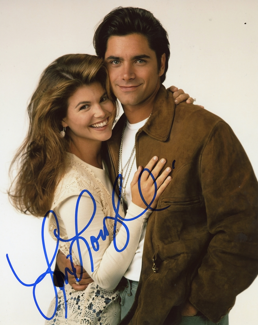 Lori Loughlin Signed Photo