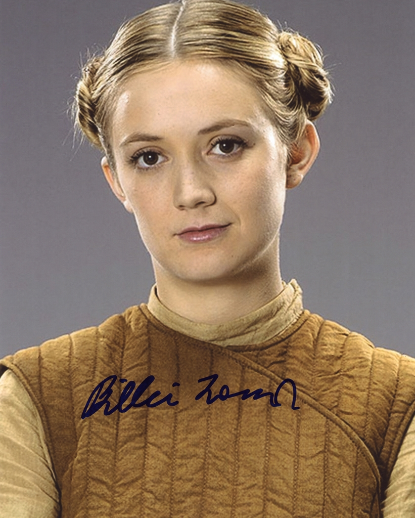 Billie Lourd Signed Photo