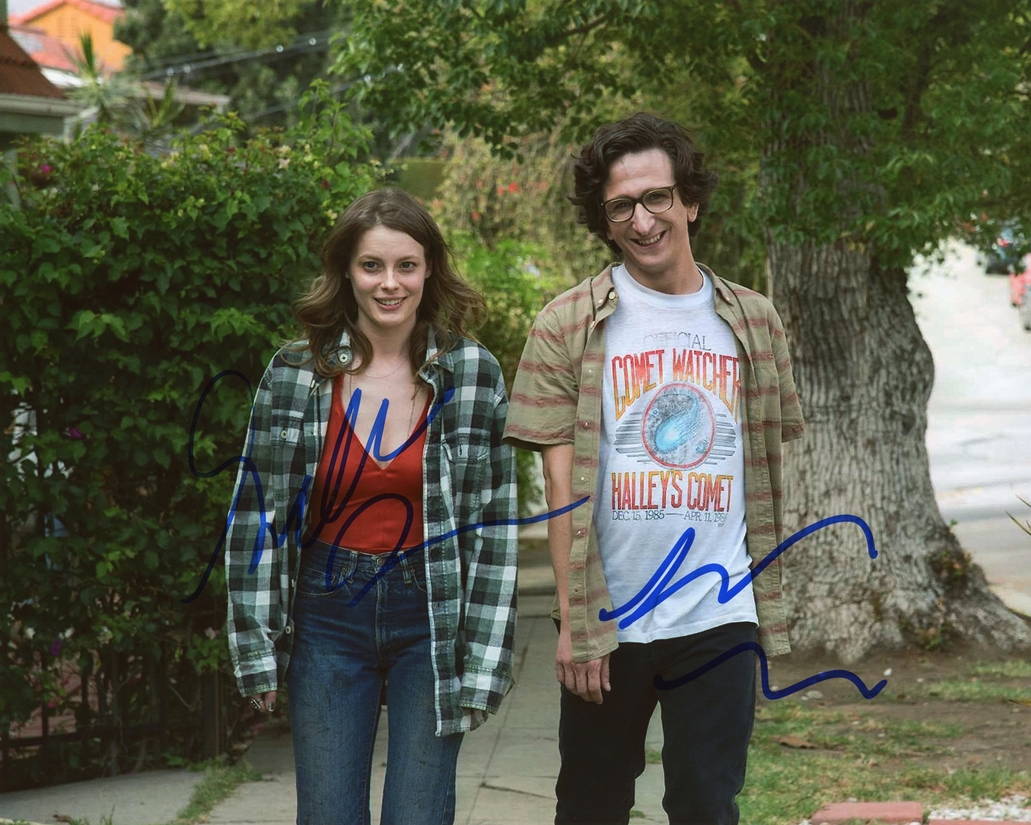 Gillian Jacobs & Paul Rust Signed Photo