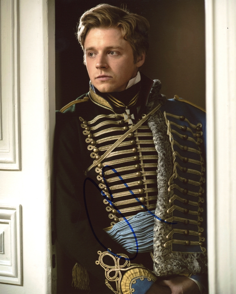 Jack Lowden Signed Photo