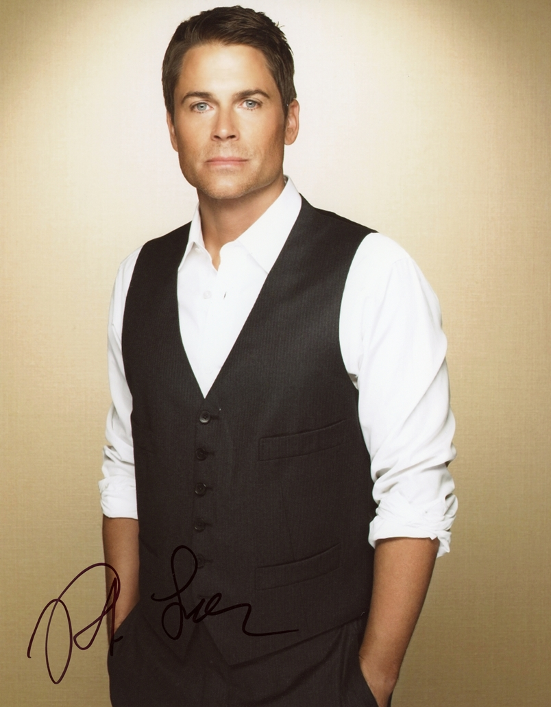 Rob Lowe Signed Photo
