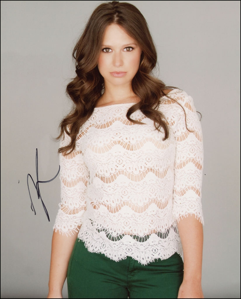 Katie Lowes Signed Photo