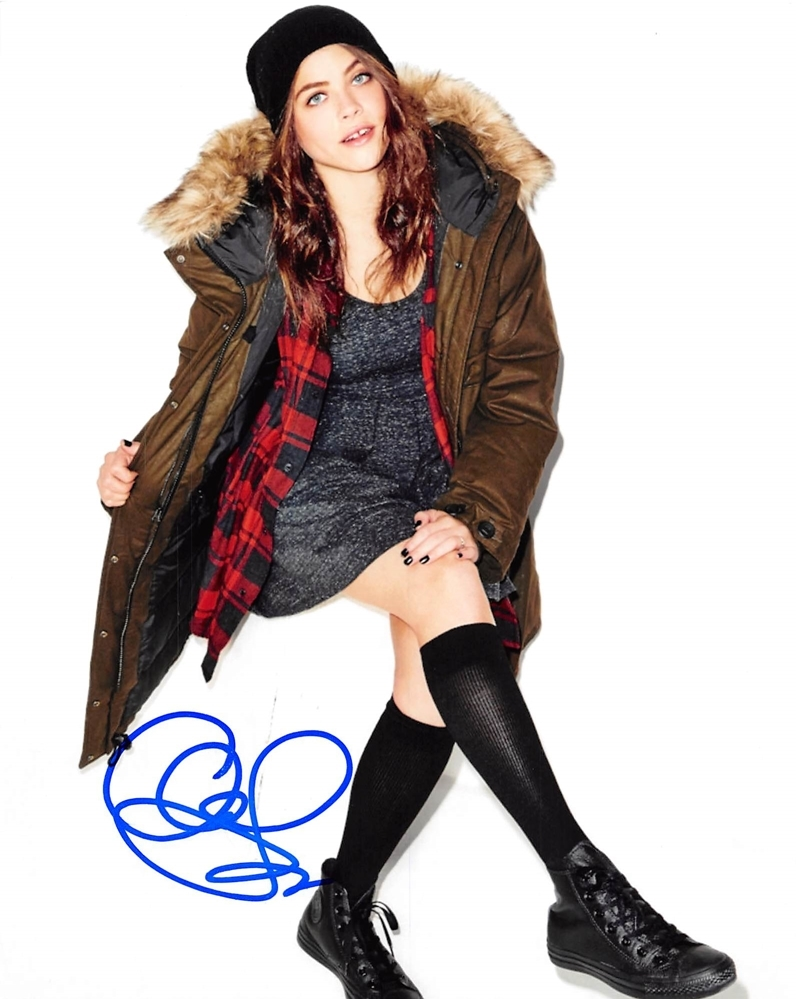 Olivia Luccardi Signed Photo