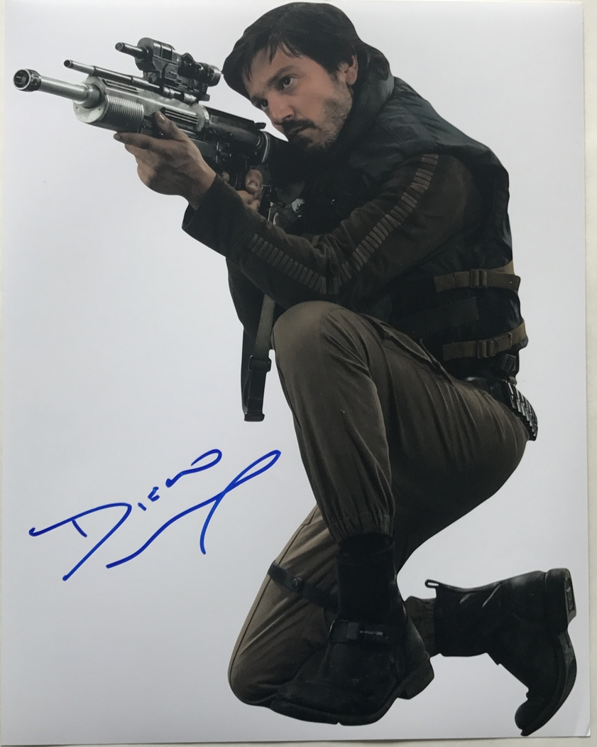 Diego Luna Signed Photo