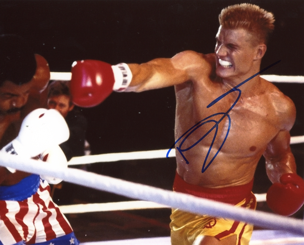 Dolph Lundgren Signed Photo