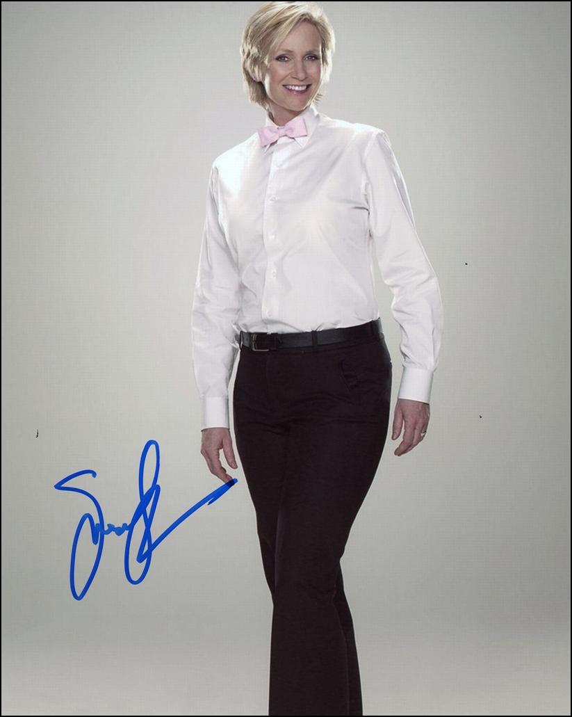 Jane Lynch Signed Photo