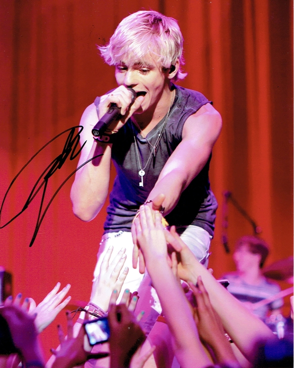 Ross Lynch Signed Photo