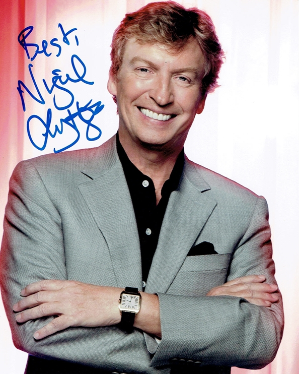 Nigel Lythgoe Signed Photo