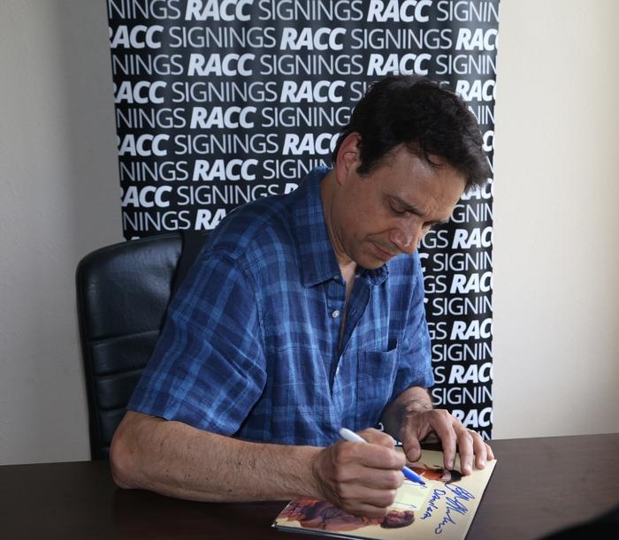 Ralph Macchio Signing Proof