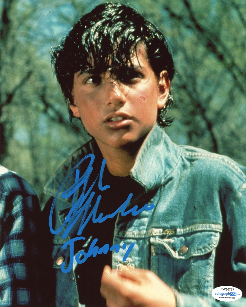 Ralph Macchio Signed Photo
