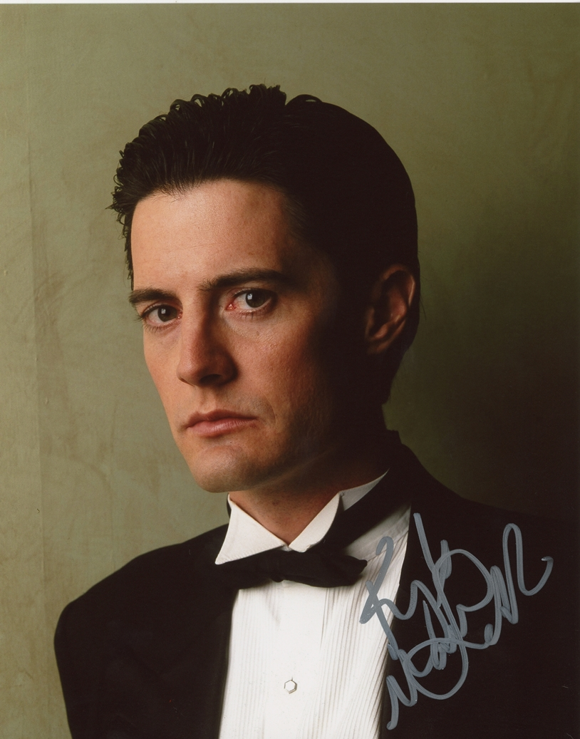 Kyle MacLachlan Signed Photo