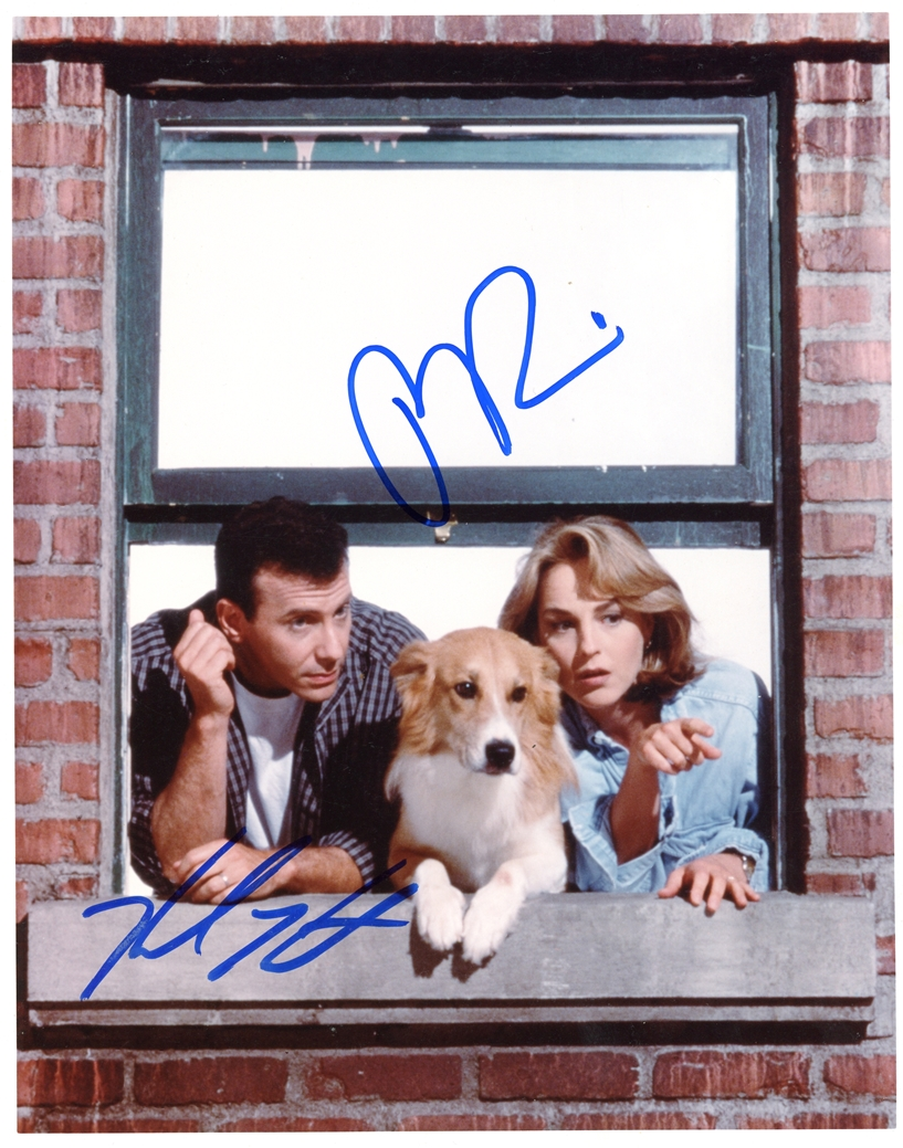 Helen Hunt & Paul Reiser Signed Photo