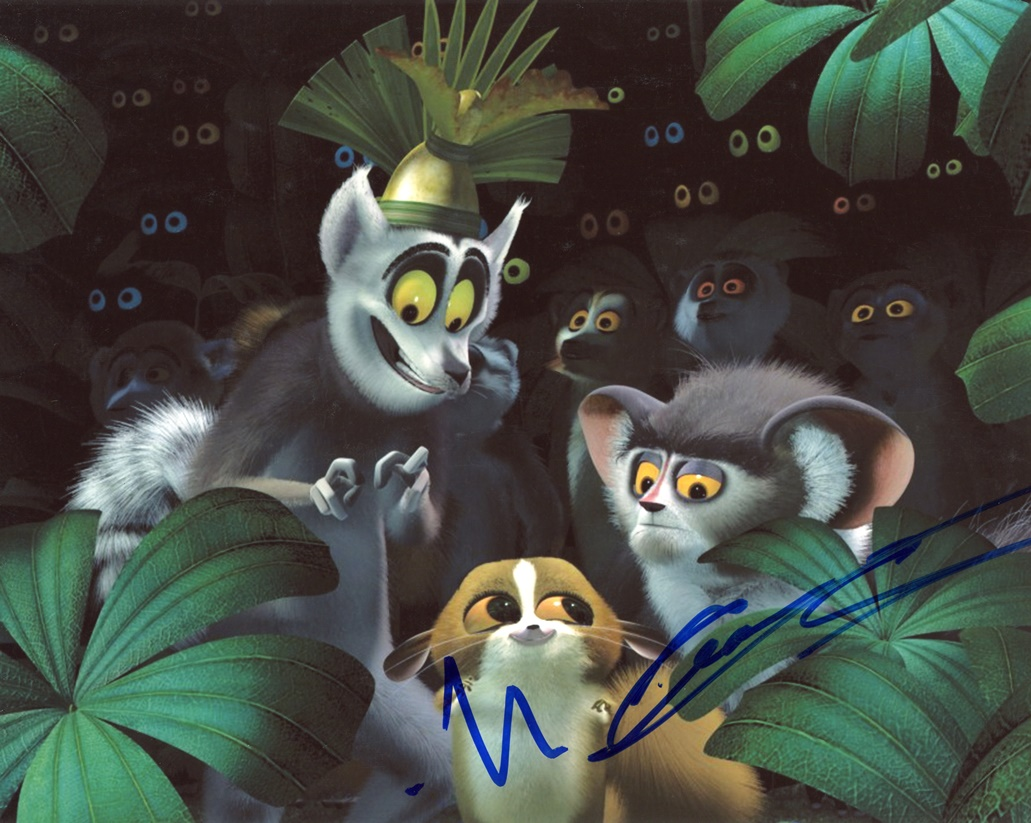 Madagascar Signed Photo
