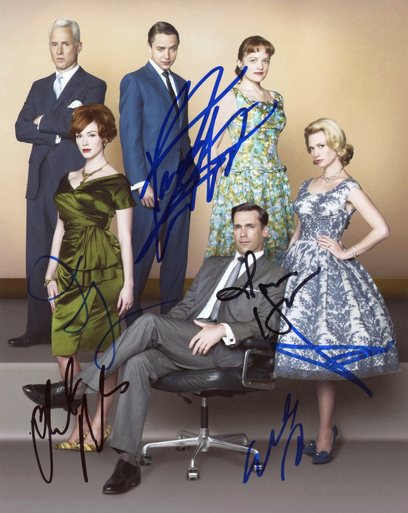 Mad Men Signed Photo