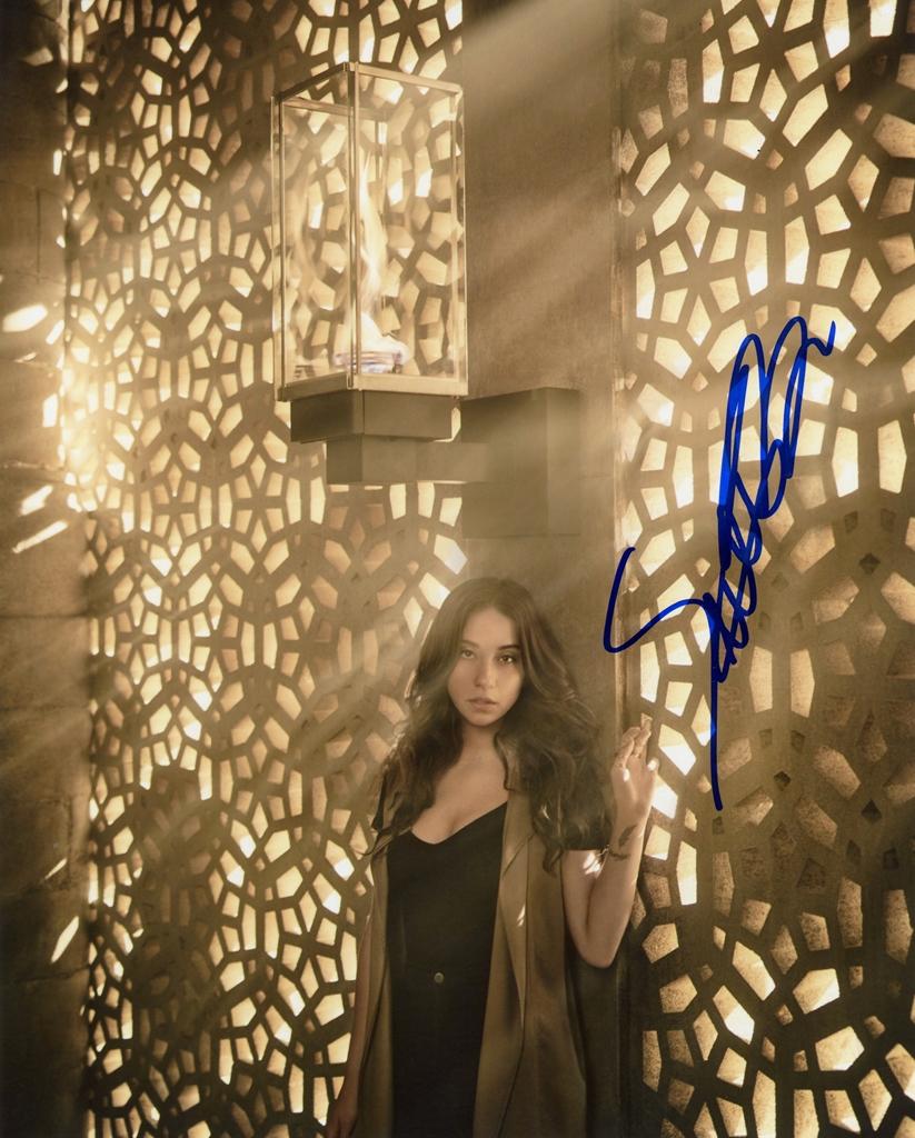 Stella Maeve Signed Photo