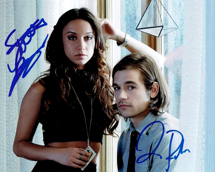 Stella Maeve & Jason Ralph Signed Photo