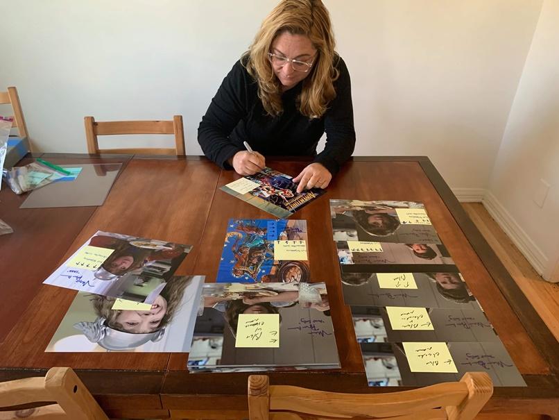 Maia Brewton Signing