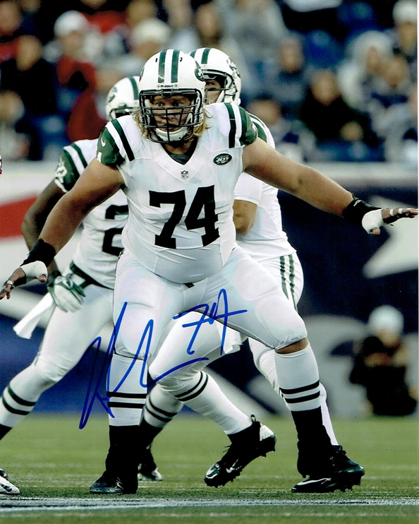 Nick Mangold Signed Photo