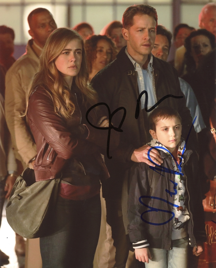 Melissa Roxburgh & Josh Dallas Signed Photo