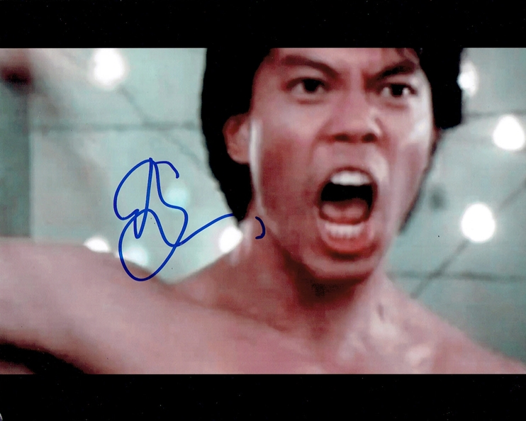 Byron Mann Signed Photo