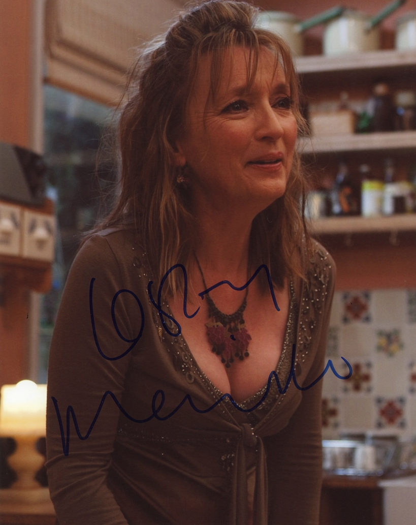 Lesley Manville Signed Photo