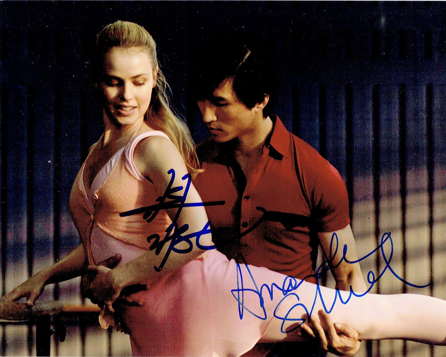 Chi Cao & Amanda Schull Signed Photo