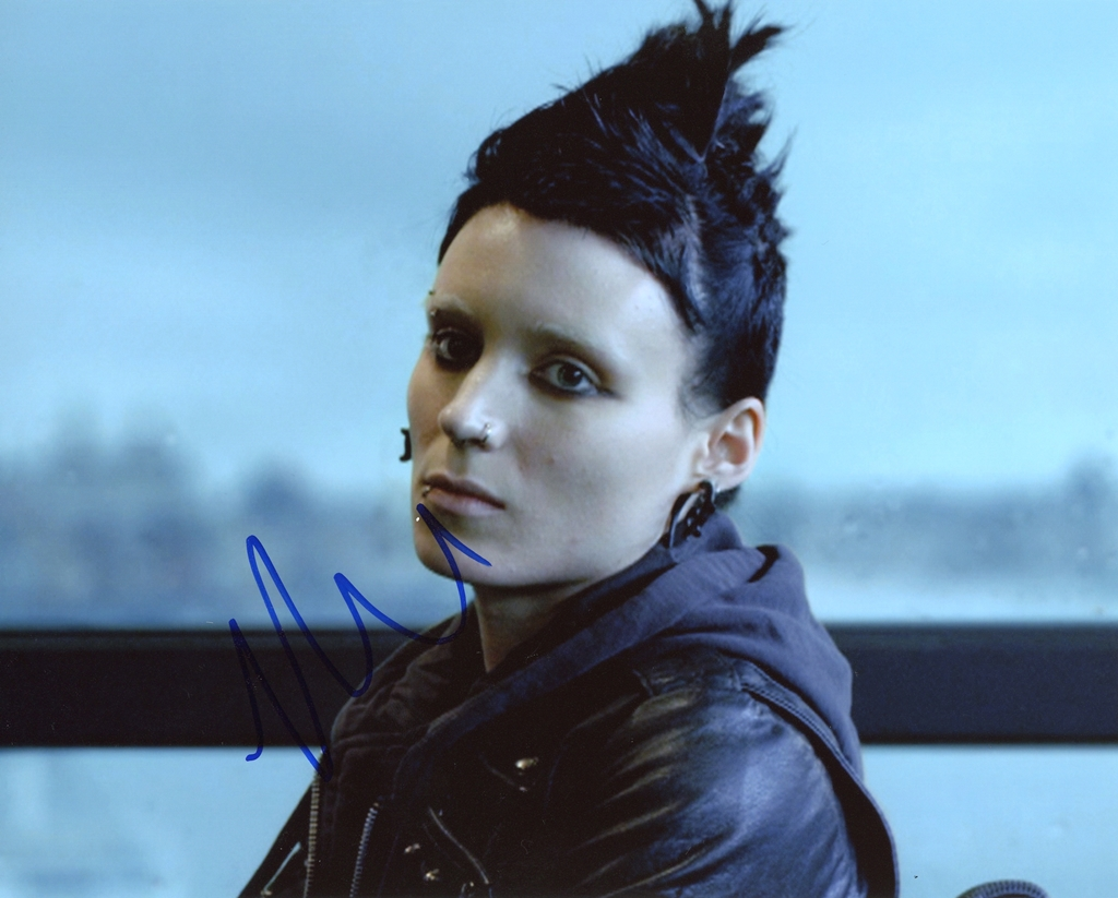 Rooney Mara Signed Photo
