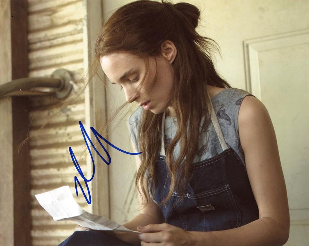 Rooney Mara Signed Photo