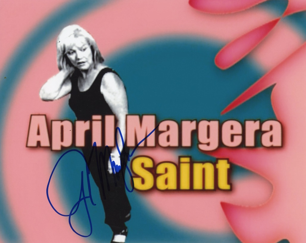 April Margera Signed Photo