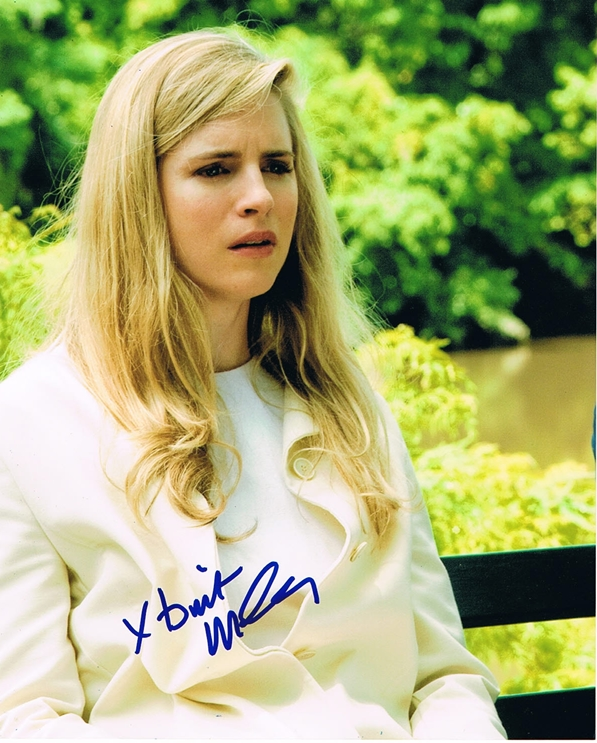 Brit Marling Signed Photo