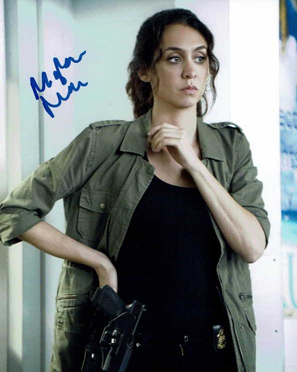 Mozhan Marno Signed Photo