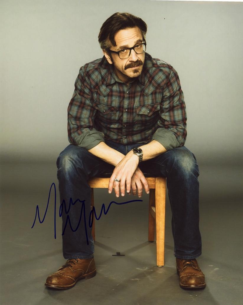 Marc Maron Signed Photo