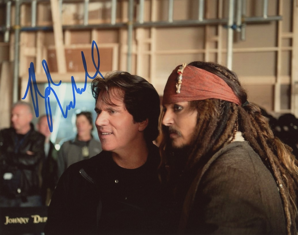 Rob Marshall Signed Photo