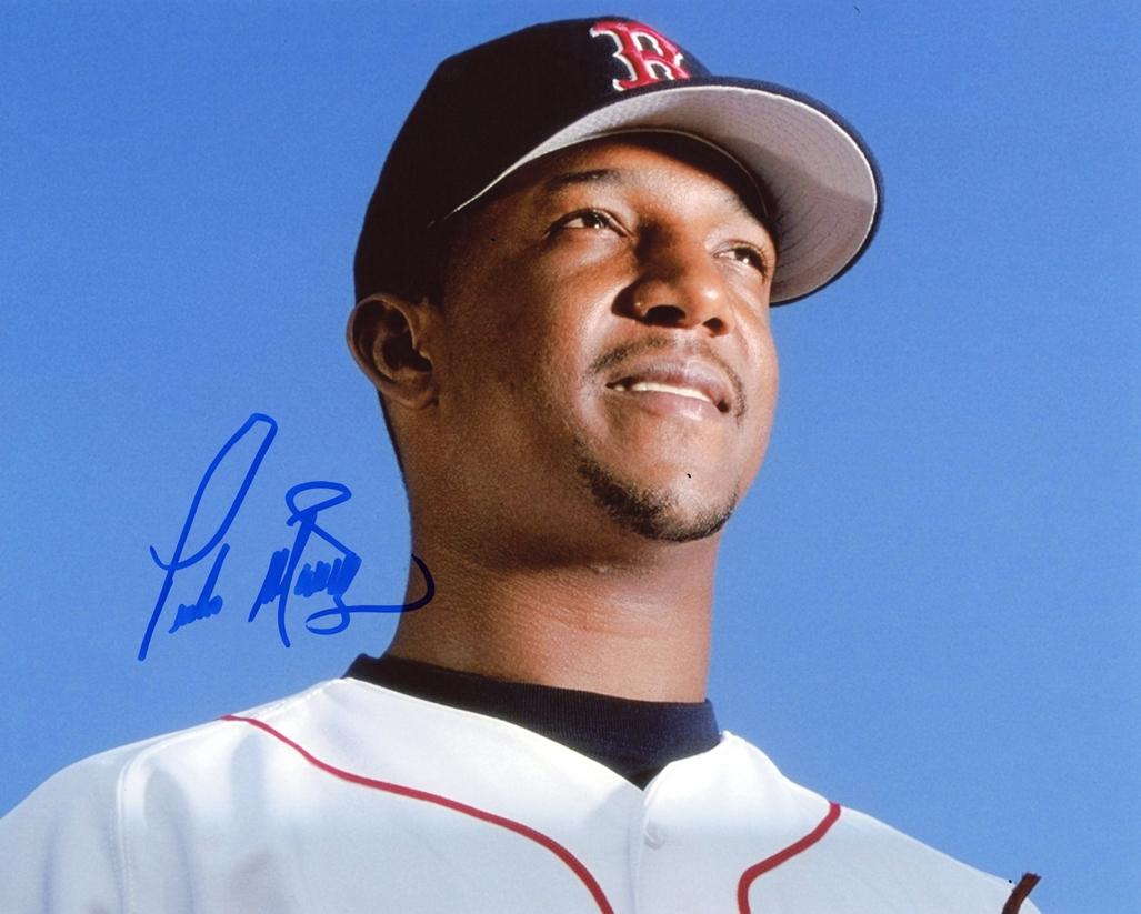Pedro Martinez Signed Photo