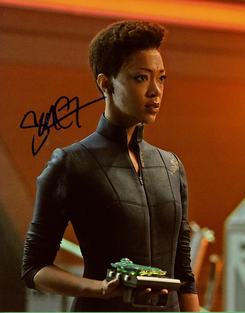 Sonequa Martin-Green Signed Photo