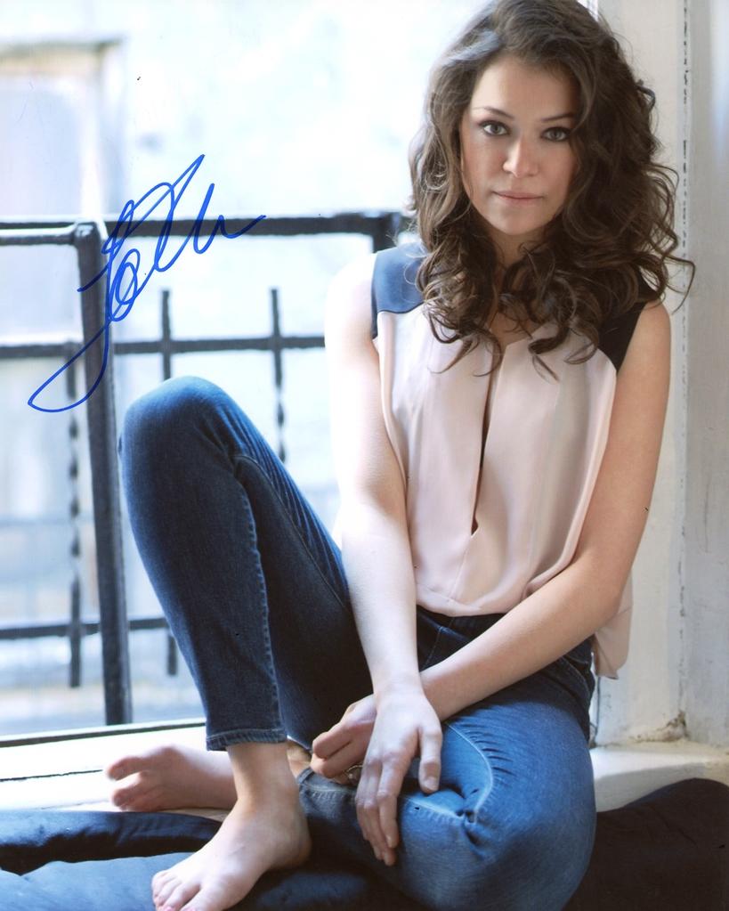 Tatiana Maslany Signed Photo