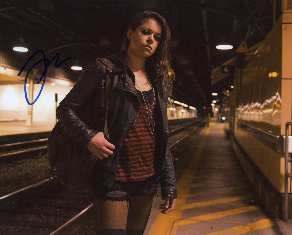 Tatiana Maslany Signed Photo