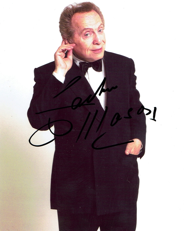 Jackie Mason Signed Photo