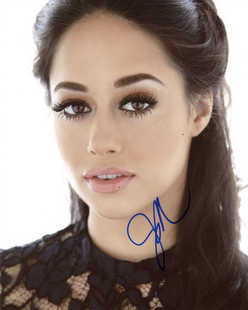 Jeanine Mason Signed Photo