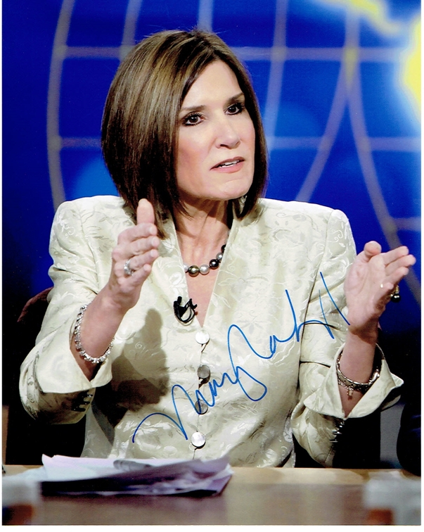 Mary Matalin Signed Photo