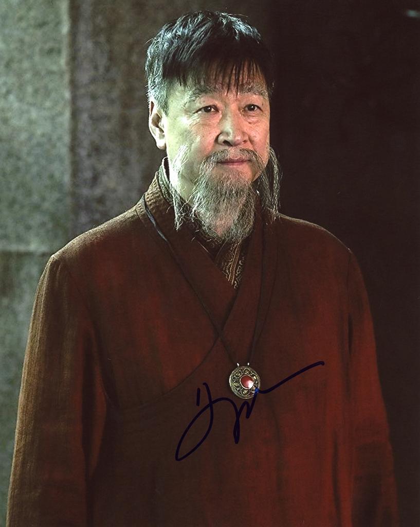 Tzi Ma Signed Photo