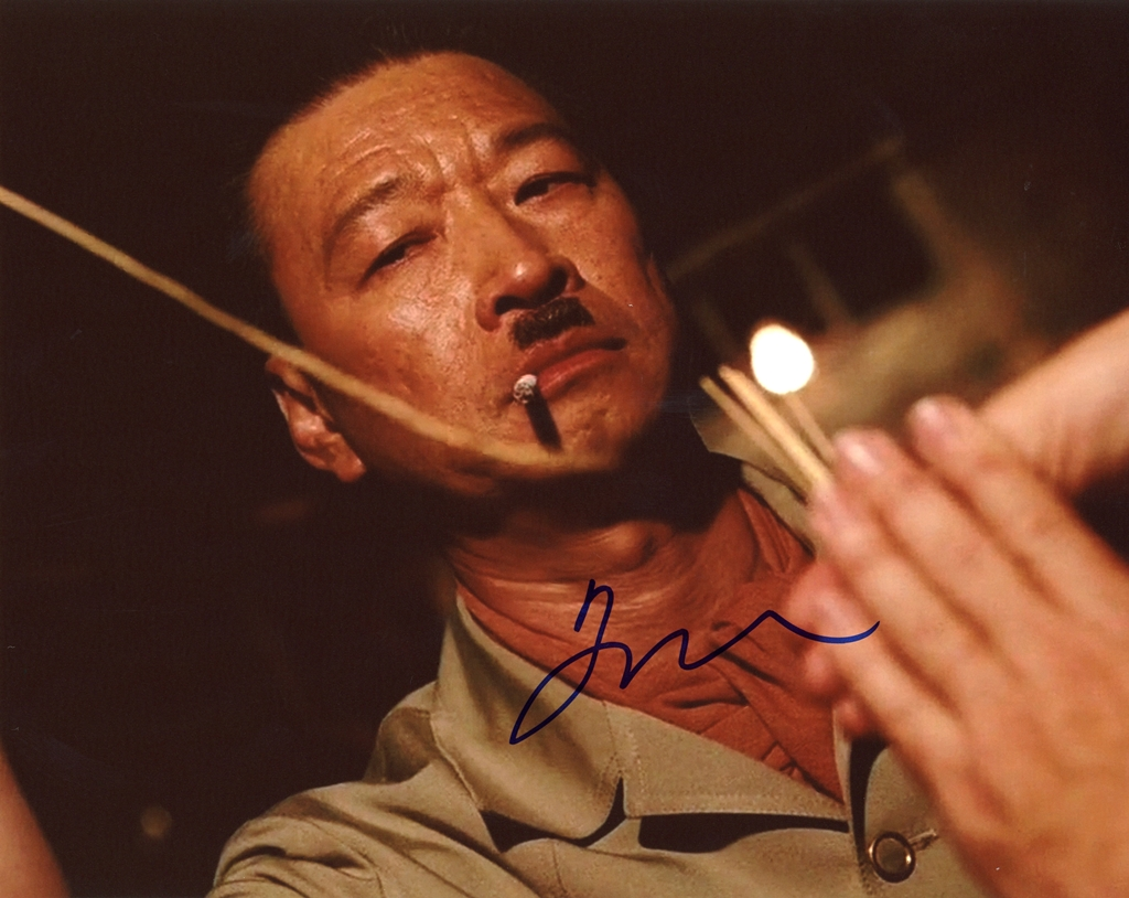 Tzi Ma Signed Photo